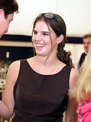 MISS VICTORIA AITKEN daughter of jailed MP Jonathan Aitken, at a polo match in Berkshire on 25th July 1999.MUM 136
