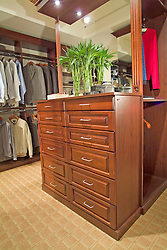 Clothes closet dressing room
