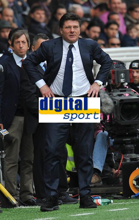 "Walter MAZZARRI (Napoli) <br /> Parma 04/03/2012 Stadio ""Ennio Tardini""<br /> Serie A 2011/2012<br /> Football Calcio Parma Vs Napoli<br /> Foto Insidefoto Alessandro Sabattini"