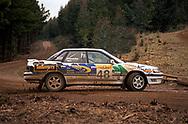 Michael Luscombe & Barry New – Subaru Legacy RS - Saxon Safari Tasmania - ARC- 11th-12th September 1999