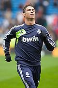 Cristiano Ronaldo warm up