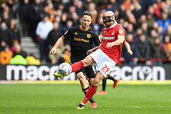 March 9, 2019 - Nottingham, England, United Kingdom - Yohan Benalouane (29) of Nottingham Forest clears the ball during the Sky Bet Championship match between Nottingham Forest and Hull City at the City Ground, Nottingham on Saturday 9th March 2019. (Credit Image: © Jon Hobley/NurPhoto via ZUMA Press)