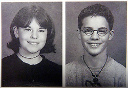 21 May 2015. Laurel, Mississippi.<br /> Collect photos of plus size model Tess Holliday (formerly known as Tess Munster, née Ryann Hoven) and her brother Tad Hoven in their Freshman year at the West Jones High School, 'Home of the Mustangs' yearbook.<br /> Photos courtesy; West Jones High School via Varleypix.com