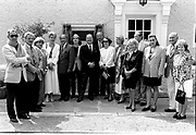 Charles De Gaulle stayed in the Dairy Cottage in 1969. Bill and Elizabeth Vincent whose family donated Killarney National park honoured the visit in 1988.<br /> Now & Then - MacMONAGLE photo archives.<br /> Picture by Don MacMonagle -macmonagle.com<br /> Facebook - @killarneynowandthen