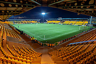 General view inside The Tony Macaroni Arena, Livingston, Scotland before the Ladbrokes Scottish Premiership match between Livingston FC and Heart of Midlothian FC on 14 December 2018.