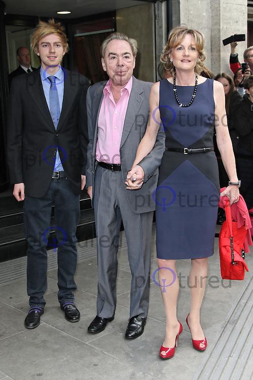 LONDON - MAY 17: Andrew Lloyd Webber attends the 'Ivor Novello Awards' at the Grosvenor House Hotel, London, UK. May 17, 2012. (Photo by Richard Goldschmidt)