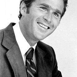 George W. Bush in Midland, TX about 1977.  Photo: