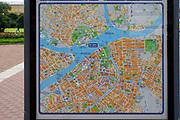 City Tourist map of Saint Petersburg, Russia
