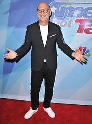 """Howie Mandel at the NBC """"America's Got Talent"""" Season 12 Live Show held at the Dolby Theater in Hollywood, CA on Tuesday, August 22, 2017. (Photo By Sthanlee B. Mirador/Sipa USA)"""