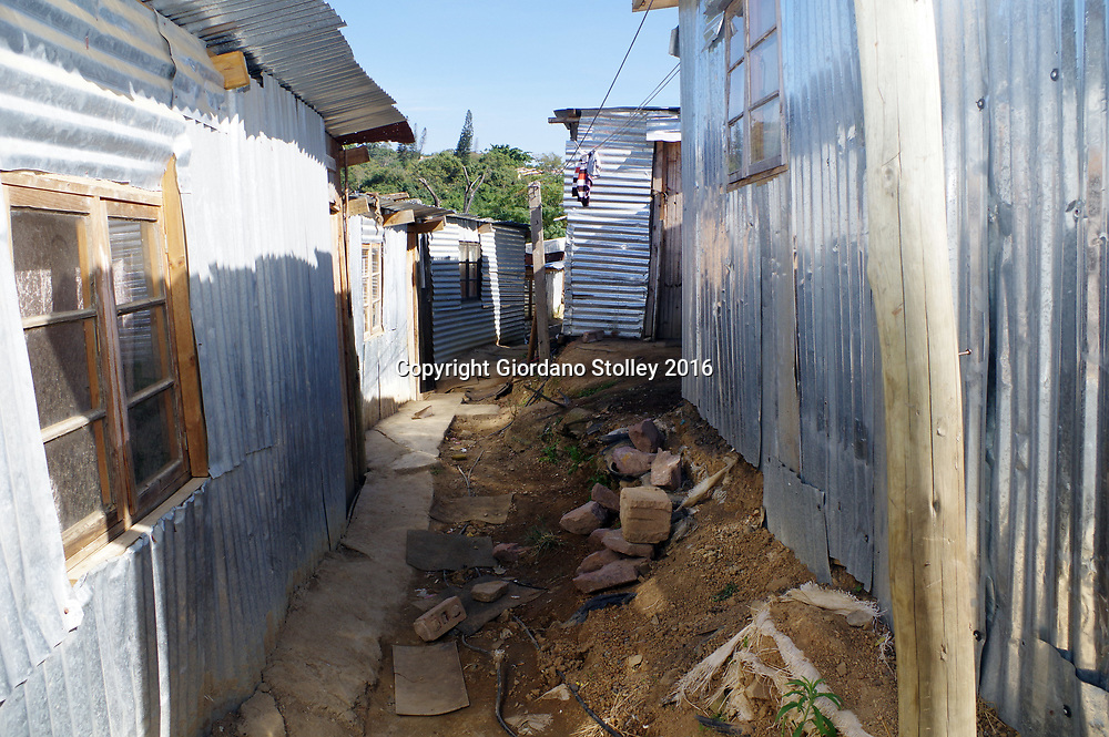 DURBAN - 3 May 2016 - Shacks in Clare estate in Durban. Informal settlements like Clare Estate are where battle lines are drawn where the main opposition party, the Democratic Alliance hopes to make inroads against the ANC in the upcoming local government elections. Picture: Giordano Stolley/African Picture Press/APP