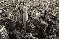 Downtown Los Angeles (monochrome)