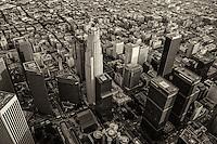Downtown Los Angeles (monochrome)