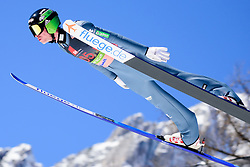 March 23, 2019 - Planica, Slovenia - Anze Semenic of Slovenia in action during the team competition at Planica FIS Ski Jumping World Cup finals  on March 23, 2019 in Planica, Slovenia. (Credit Image: © Rok Rakun/Pacific Press via ZUMA Wire)