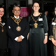 Cllr Ben Khosa, Cllr Saray Karakus, Cllr Sally Littlejohn and Cllr Naheed Asghar attend Awareness gala hosted by the Health Committee with live music and poetry performances at City Hall at The Queen's Walk, London, UK. 18 March 2019.
