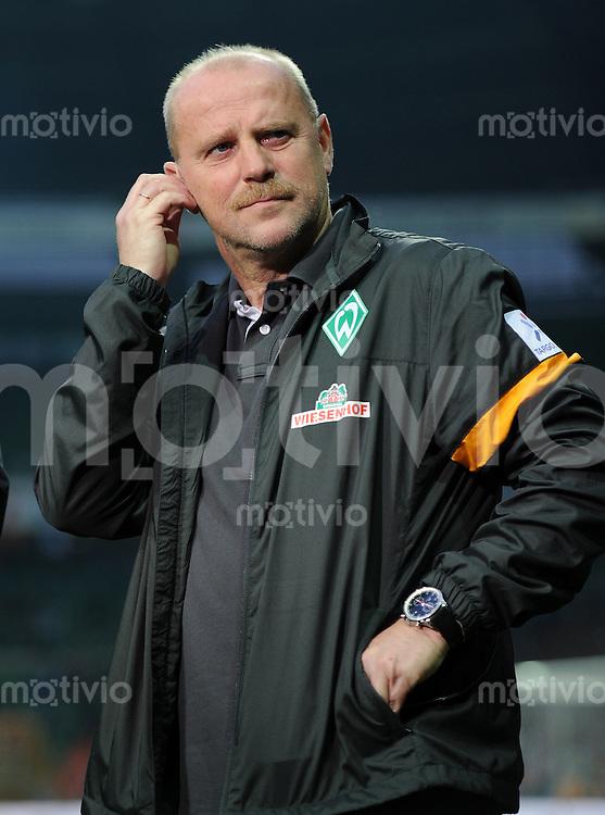 FUSSBALL   1. BUNDESLIGA    SAISON 2012/2013    8. Spieltag   SV Werder Bremen - Borussia Moenchengladbach  20.10.2012 Trainer Thomas Schaaf (SV Werder Bremen)