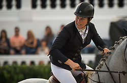 Graham Amy (AUS) - Bella Baloubet<br /> Challenge Cup<br /> Furusiyya FEI Nations Cup™ Final - Barcelona 2014<br /> © Dirk Caremans<br /> 10/10/14