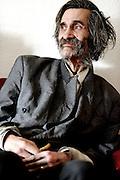 Louis Romain Jenzer, Schriftsteller und Verleger. © Adrian Moser