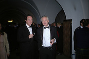 David Cameron MP and David Davis MP. The Leader's Dinner ( Michael Howard's ) Banqueting House. Whitehall. London.  November 2005. ONE TIME USE ONLY - DO NOT ARCHIVE  © Copyright Photograph by Dafydd Jones 66 Stockwell Park Rd. London SW9 0DA Tel 020 7733 0108 www.dafjones.com