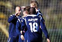 Fotball ,12. mars 2013 privatkamp ,La Manga <br /> Kristiansund - Strømmen 1-2<br /> <br /> Mahmoud El Haj , Kr.sund<br /> jubel scoring
