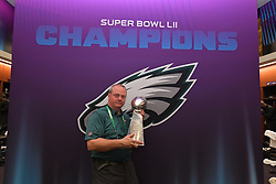 The Philadelphia Eagles beat the New England Patriots 41-33 in Lurie Super Bowl LII  at US Bank Stadium on February 5, 2018 in Minneapolis, Minnesota. (Photo by Philadelphia Eagles)
