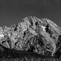 View of the Grand Tetons Park in Wyoming