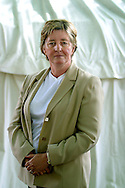 British novelist and author of the 'Regeneration' trilogy, Pat Barker, pictured at the Edinburgh International Book Festival where she discussed her new novel 'Double Vision'. The Book Festival is the world's biggest literary festival with appearances by over 500 authors from across the world..
