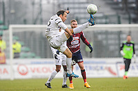 Laurent BONNART - 24.01.2015 - Clermont / Chateauroux  - 21eme journee de Ligue2<br />Photo : Jean Paul Thomas / Icon Sport