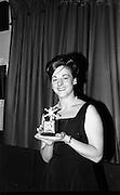 Eire Amateur Ballroom Dancing Championship was held last night at the Metropole Ballroom, Dublin.  Novice winners are awarded the Bri-Nylon Trophy.<br /> 06.10.1964