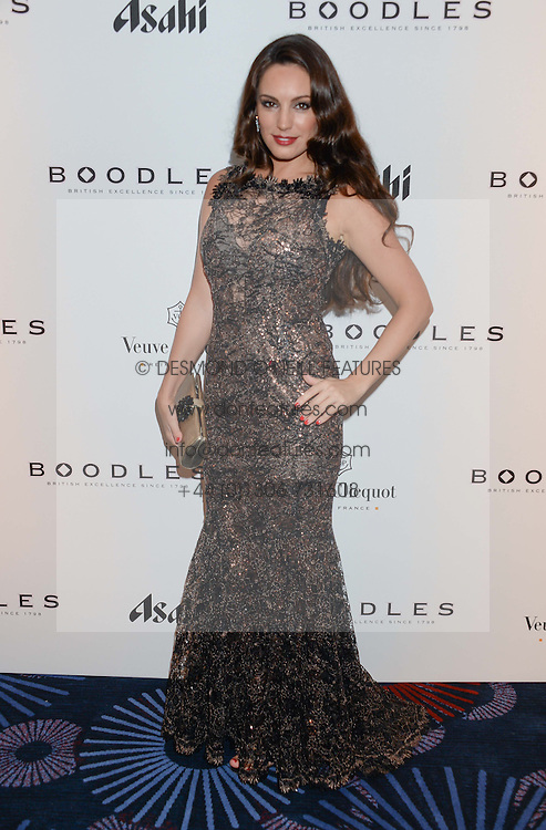 British fine jewellery brand Boodles welcomed guests for the 2013 Boodles Boxing Ball in aid of Starlight Children's Foundation held at the Grosvenor House Hotel, Park Lane, London on 21st September 2013.<br /> Picture Shows:-KELLY BROOK.<br /> <br /> Press release - https://www.dropbox.com/s/a3pygc5img14bxk/BBB_2013_press_release.pdf<br /> <br /> For Quotes  on the event call James Amos on 07747 615 003 or email jamesamos@boodles.com. For all other press enquiries please contact luciaroberts@boodles.com (0788 038 3003)