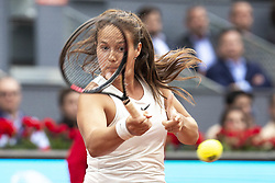 May 9, 2018 - Madrid, Spain - Russian Daria Kasatkina during Mutua Madrid Open 2018 at Caja Magica in Madrid, Spain. May 09, 2018. (Credit Image: © Coolmedia/NurPhoto via ZUMA Press)
