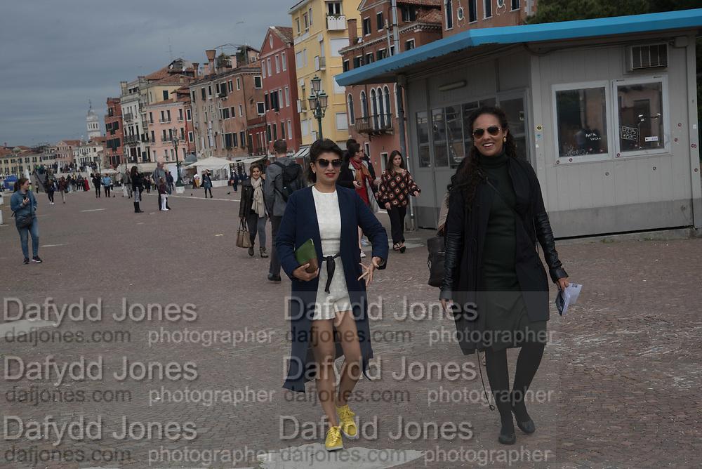 ZAIN MASUD; PRINCESS ALIA AL SENUSSI, , Venice Biennale, 10 May 2017
