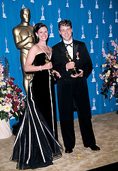 Mar 25, 2001; Los Angeles, CA, USA; OSCARS 2001: 'Best Actress' & 'Best Actor' winners JULIA ROBERTS & RUSSELL CROWE @ the 73rd Academy Awards..  (Credit Image: ONS/ZUMAPRESS.com)