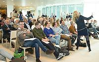 UTRECHT - Presentatie KNHB boek 115 jaar Nederland Hockeyland. FOTO KOEN SUYK