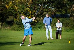 "The ""LA Raiders"" team take part in the Bristol Rovers charity golf day - Mandatory byline: Rogan Thomson/JMP - 07966 386802 - 12/10/2015 - GOLF - Farrington Park Golf Club - Bristol, England - Bristol Rovers Golf Day."