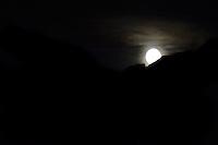 Arctic night, Lofoten, Norway,
