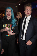 COCO FENNELL; HUGO COBB, Sotheby's Erotic sale cocktail party, Sothebys. London. 14 February 2018