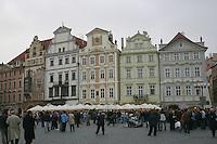 Old town square, Prague, Czech republic<br />