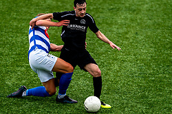 Anis Ziani of VV Maarssen in action. First friendly match after the Corona outbreak. VV Maarssen lost the away match against big league Spakenburg 5-1 on 4 July 2020 in Spakenburg.