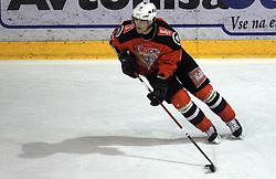 David Rodman (12) at ice hockey match Acroni Jesencie vs EC Pasut VSV. in EBEL League,  on November 23, 2008 in Arena Podmezaklja, Jesenice, Slovenia. (Photo by Vid Ponikvar / Sportida)