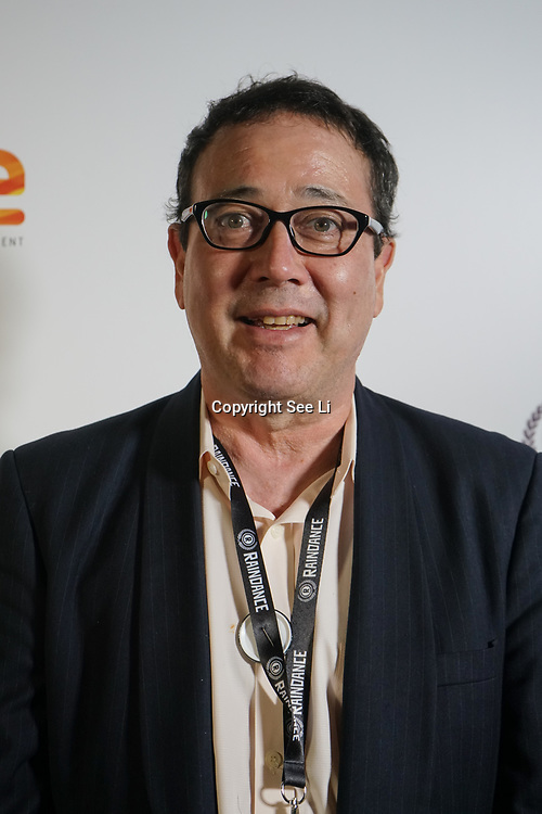 London, England, UK. 25th September 2017. Mike Rogers is a producer, writer, co-director of Ghostroads attend Raindance Film Festival Screening at Vue Leicester Square, London, UK
