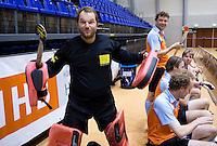 ROTTERDAM - Groningen mannen.  Landskampioenschap zaalhockey voor reserveteams. FOTO KOEN SUYK