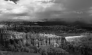 Bryce Canyon National Park, shot in infrared