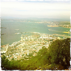 Gibraltar..Hipstamatic images taken on an Apple iPhone..©Michael Schofield.