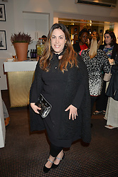 MARY KATRANTZOU at the UK Premiere of The Uncondemned hosted by Women for Women International at BAFTA, 195 Piccadilly, London on 2nd November 2016.