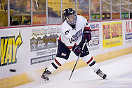 October 13, 2007 - Anchorage, Alaska: Denny Urban (44) of the Robert Morris Colonials during the 4-1 win over Wayne State  in the 3rd game of the Nye Frontier Classic at the Sullivan Arena.  RMU would go on to be the Classic Champions after host Alaska-Anchorage tied with Boston University in the 4th game of the Classic.