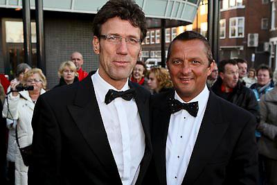 NLD/Zaandam/20081207 - Premiere Op Hoop van Zegen, Hans Schiffers en Rob Sol