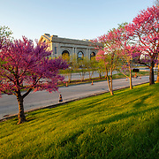 Union Station, downtown Kansas City, Missouri. Springtime 2021.