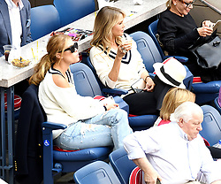 Celebrities attend the 2017 US Open Tennis Championships - Men's Singles finals match between Kevin Anderson of South Africa and Rafael Nadal of Spain - Day 14. 10 Sep 2017 Pictured: Christie Brinkle, Nina Agdal. Photo credit: MEGA TheMegaAgency.com +1 888 505 6342