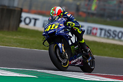 June 2, 2018 - Mugello, FI, Italy - Valentino Rossi of Movistar Yamaha MotoGP during the qualifying  of the Oakley Grand Prix of Italy, at International  Circuit of Mugello, on June 2, 2018 in Mugello, Italy  (Credit Image: © Danilo Di Giovanni/NurPhoto via ZUMA Press)
