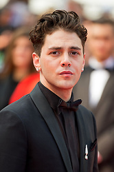Xavier Dolan leaving the red carpet of 'Matthias Et Maxime (Matthias and Maxime)' screening held at the Palais Des Festivals in Cannes, France on May 22, 2019 as part of the 72th Cannes Film Festival. Photo by Nicolas Genin/ABACAPRESS.COM